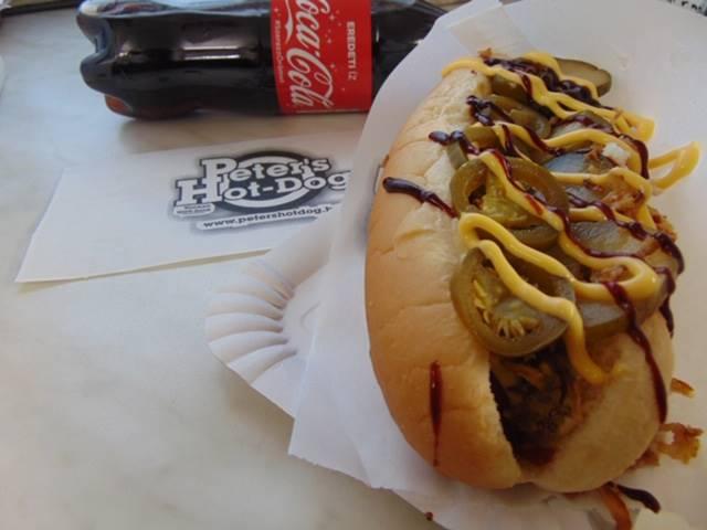 Minőségi amerikai hot dog